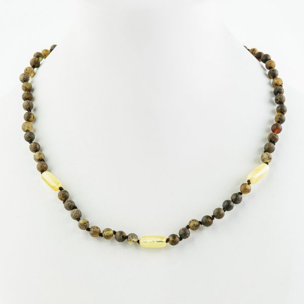 Amber necklaces 155