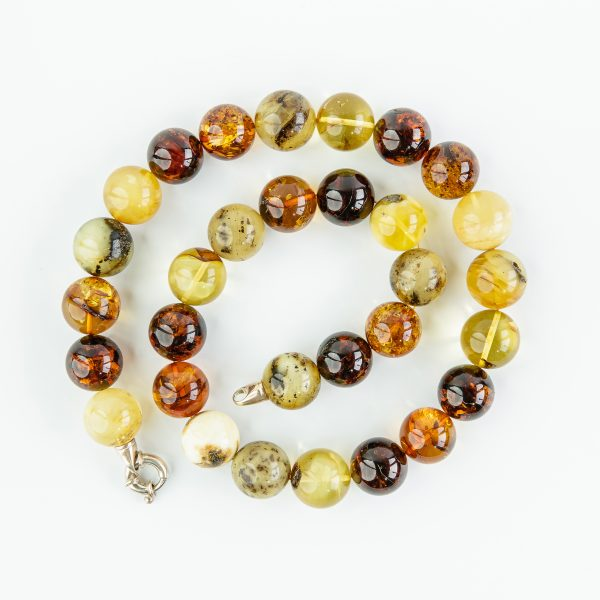 Amber necklaces 4