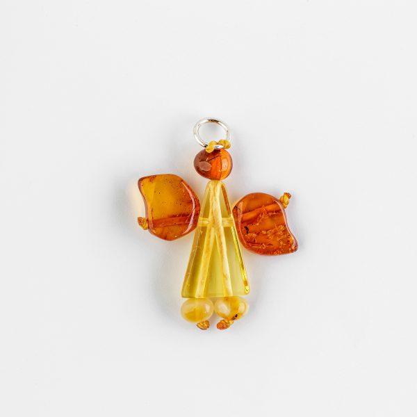 Amber Angel Pendant