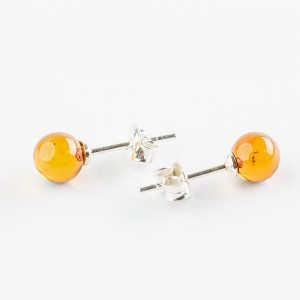 Amber earrings 12