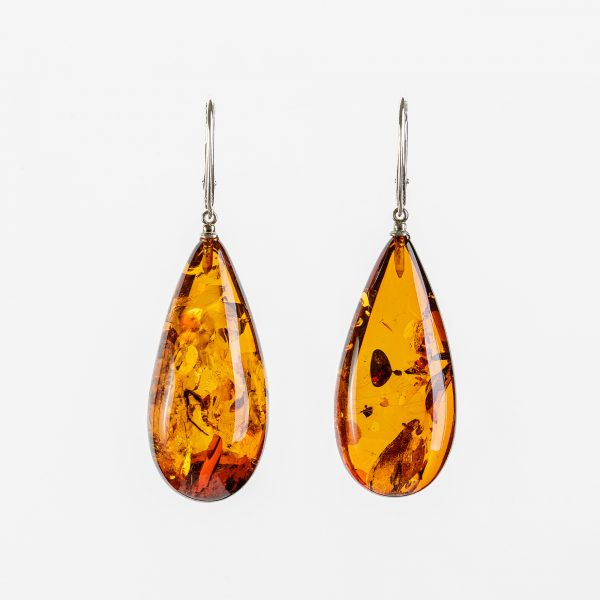 Amber earrings 21
