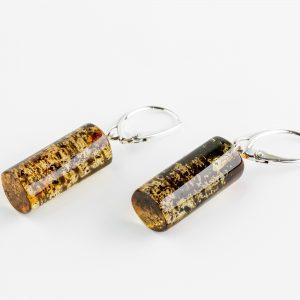 Amber earrings 22