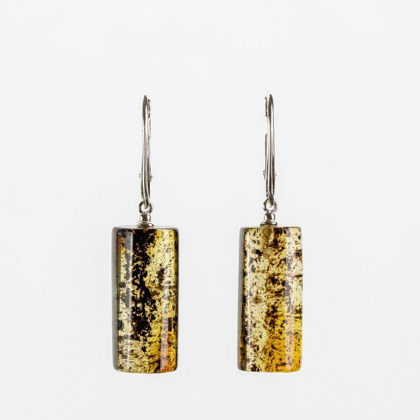 Amber earrings 23