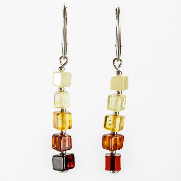 Amber earrings 25