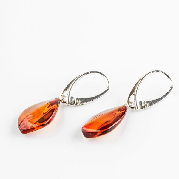 Amber earrings 26