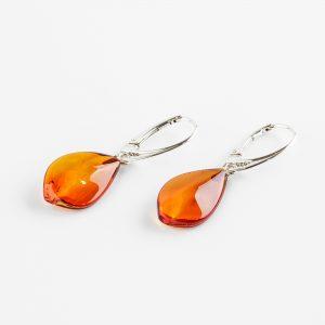 Amber earrings 27
