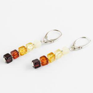 Amber earrings 28
