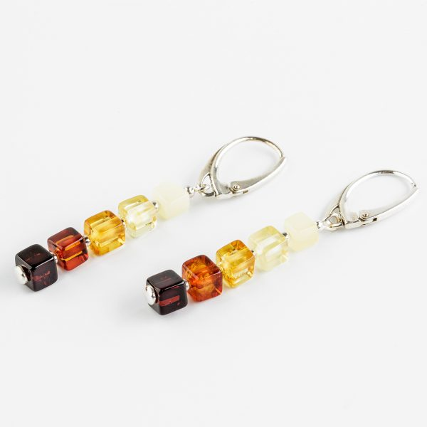 Amber earrings 28