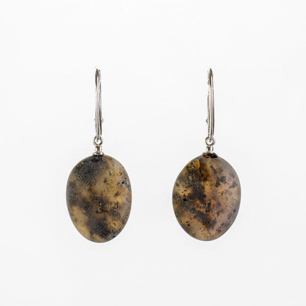 Amber earrings 33