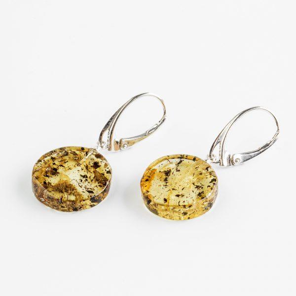 Amber earrings 34