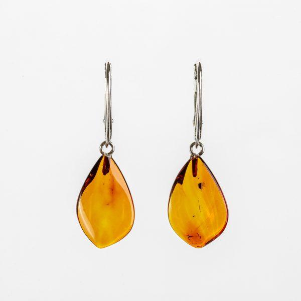 Amber earrings 36