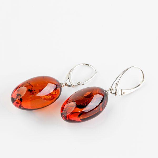 Amber earrings 37
