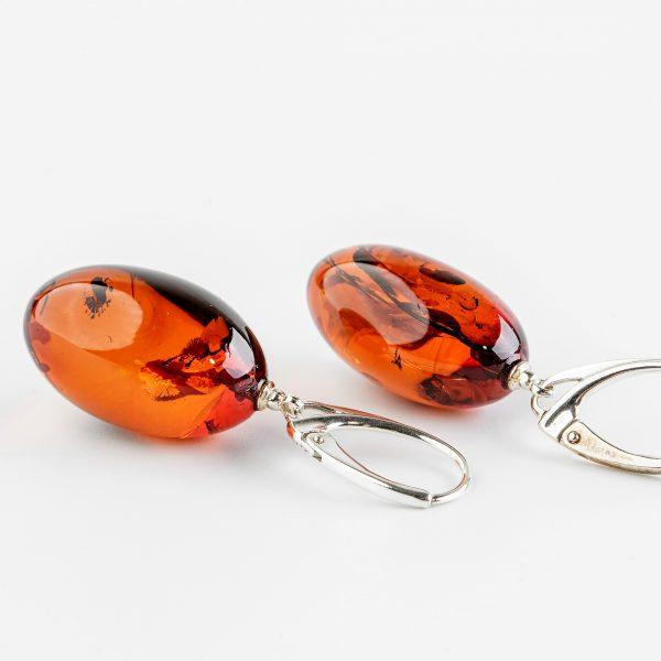 Amber earrings 38