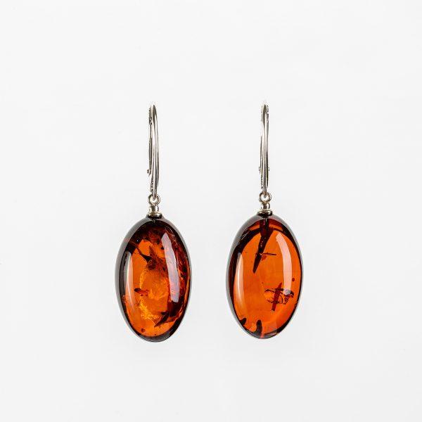 Amber earrings 39
