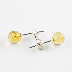 Amber earrings 4
