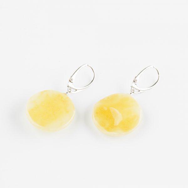 Amber earrings 42