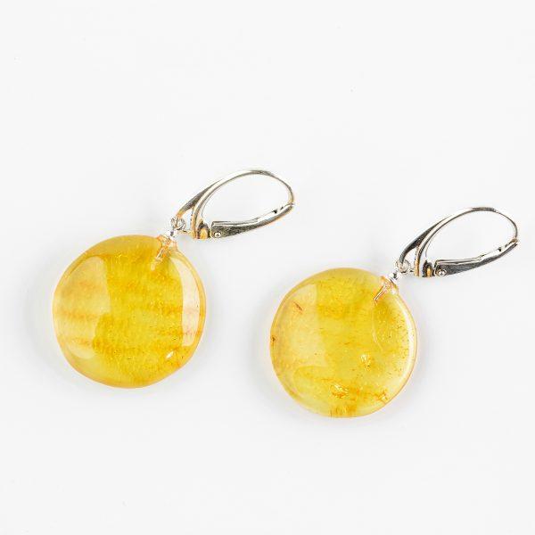 Amber earrings 49