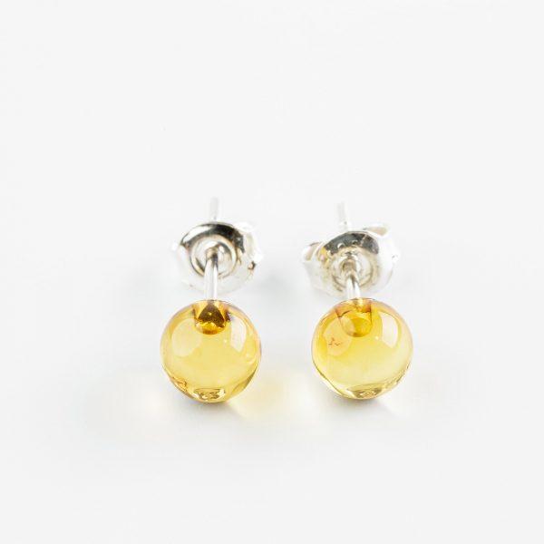 Amber earrings 5