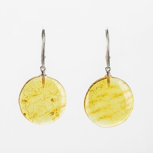 Amber earrings 50