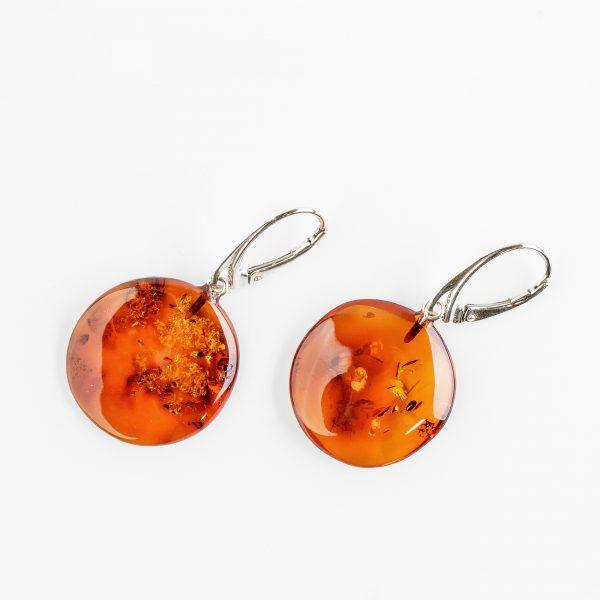 Amber earrings 52