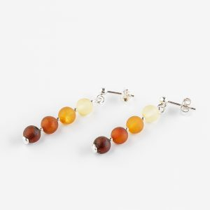 Amber earrings 57