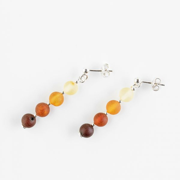 Amber earrings 58