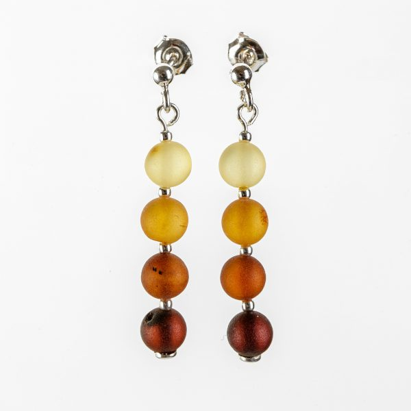 Amber earrings 59