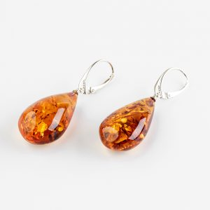 Amber earrings 60