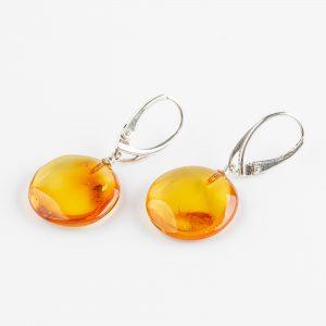 Amber earrings 63