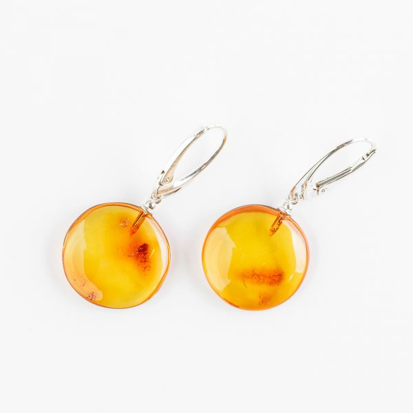 Amber earrings 64