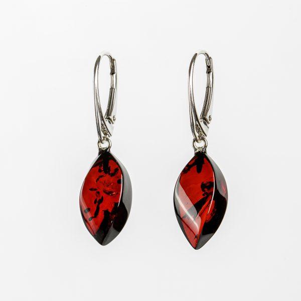 Amber earrings 69