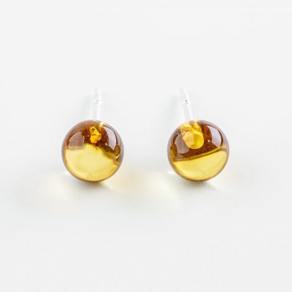 Amber earrings 7