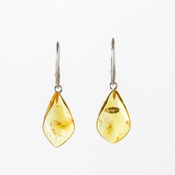 Amber earrings 92