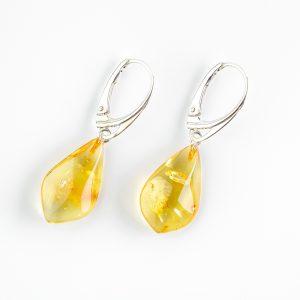 Amber earrings 93